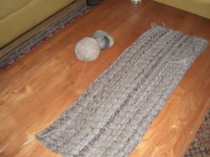 The first 4 skeins